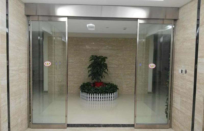 武汉农村商业银行自动门